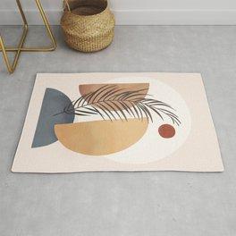 Minimal Abstract Shapes No.50 Rug