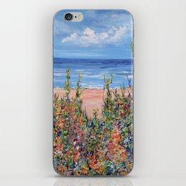 Summer Beach, Impressionism Seascape iPhone Skin