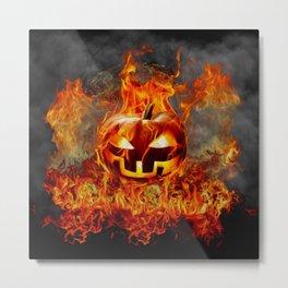 FIRE PIT Metal Print