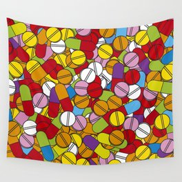 Lots of Pills Wall Tapestry