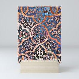 Desert and Blue Filigree Mini Art Print