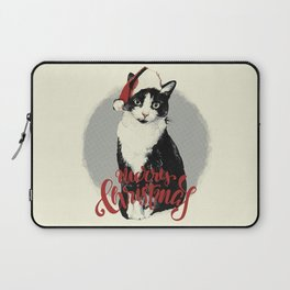 Vintage Christmas (Cat Edition) Laptop Sleeve