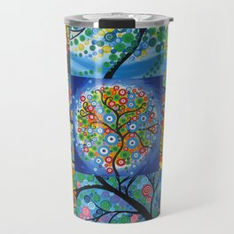 forest of dreams collages Travel Mug