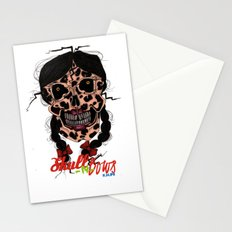 Skull-N-Bows Stationery Cards