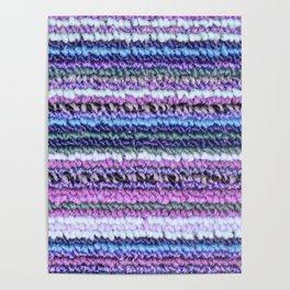 Lilac Blue Carpet Poster