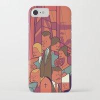 vertigo iPhone & iPod Cases featuring Vertigo by Ale Giorgini