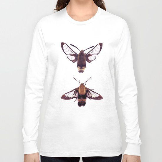 snowberry clearwings Long Sleeve T-shirt