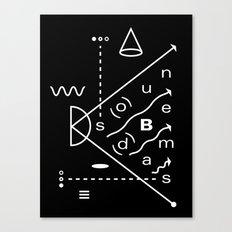 Soundbeams Canvas Print