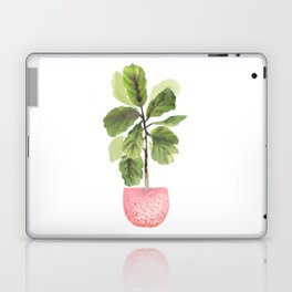 Fiddle-Leaf Fig (Watercolor) Laptop & iPad Skin
