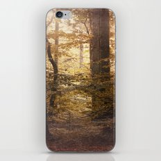 Autumn Came, With Wind & Gold. iPhone & iPod Skin