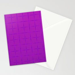 Glama Checks Again (Purple) Stationery Cards