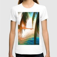 paradise T-shirts featuring Paradise by Robin Curtiss