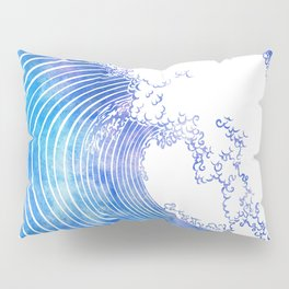 Pacific Waves III Pillow Sham