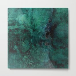 Deep Green Metal Print