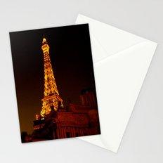 Paris le Vegas Stationery Cards