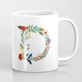 Monogram letter D Coffee Mug
