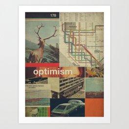 Optimism178 Art Print