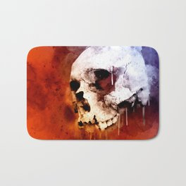 Cool Skull, Unique Best Skull Painting Bath Mat