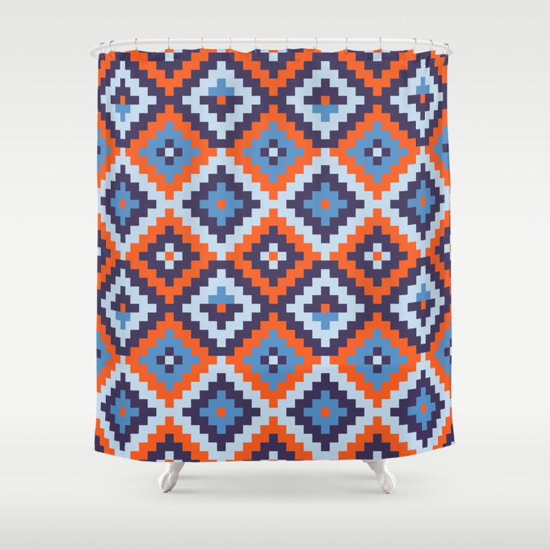Navajo Shower Curtains | Society6