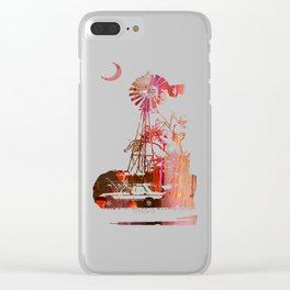 What If She Was Looking At The Pepper This Whole Time? Clear iPhone Case