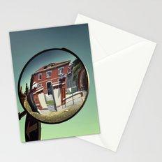Street mirror. Stationery Cards