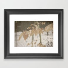 Few Fall Framed Art Print