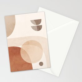 Abstract Minimal Shapes 16 Stationery Cards