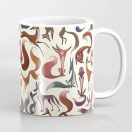 Foxy Pattern Coffee Mug