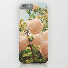 Puffy flowers! iPhone 6s Slim Case