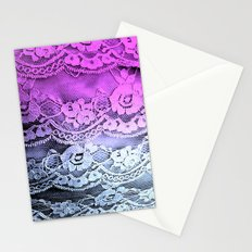 Ombré Lace Stationery Cards