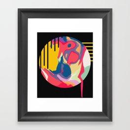 Weird Dreams   Abstract Art Framed Art Print