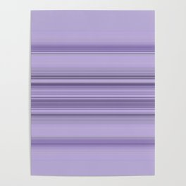 Pantone Purple Stripe Design Poster