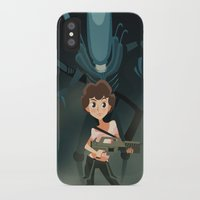 ripley iPhone & iPod Cases featuring Ripley by Alex Santaló