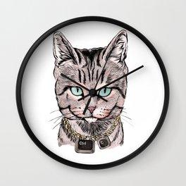 Copy Cat Wall Clock