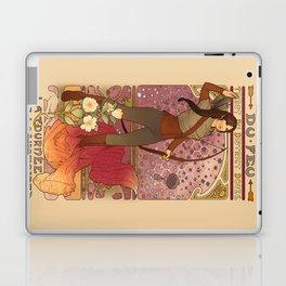 La fille du feu Laptop & iPad Skin
