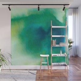 Ethereal Green Wall Mural