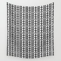 dot Wall Tapestries featuring Dot Exposure by Vikki Salmela