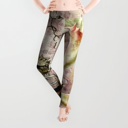 Franz Sedlacek Blooms And Insects II Leggings
