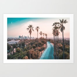 Los Angeles California Art Print