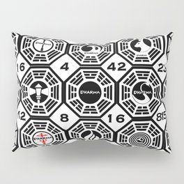 Dharma Station and The Numbers Pillow Sham