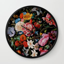 Night Garden XXXVI Wall Clock
