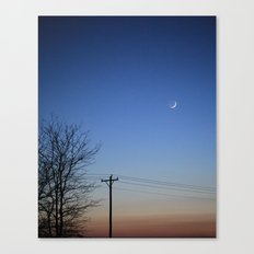 Evening Sky Canvas Print