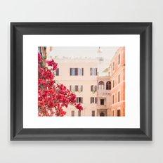 Springtime in Rome Framed Art Print