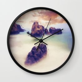 Floating stones Wall Clock