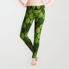 Jungle Tiles Leggings