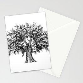 Oak woman Stationery Cards