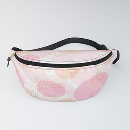 Abstract Pattern, Geometric Pattern, Circles Fanny Pack