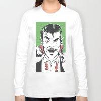 dracula Long Sleeve T-shirts featuring Dracula by NathanJoyce