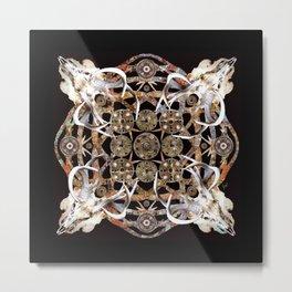 Merovingian Mandala Metal Print