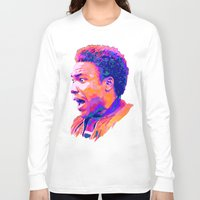 childish gambino Long Sleeve T-shirts featuring CHILDISH GAMBINO // NEXTGEN RAPPERS by mergedvisible